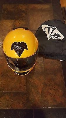 Vega Helmet, Summit Xpv, Eye Bright Yellow, With Helmet Bag-Small