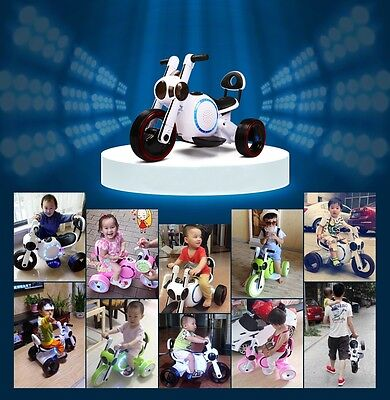 Electric Kids Scooter Bike Motorbike Motorcycle - Battery Powered Childrens Toy