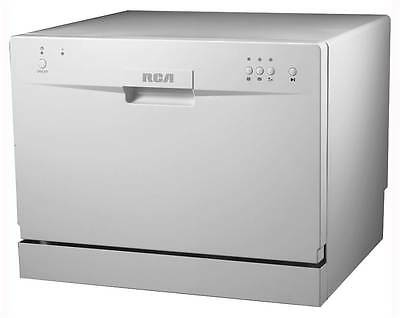 Electronic Countertop Dishwasher in White [ID 3475438]