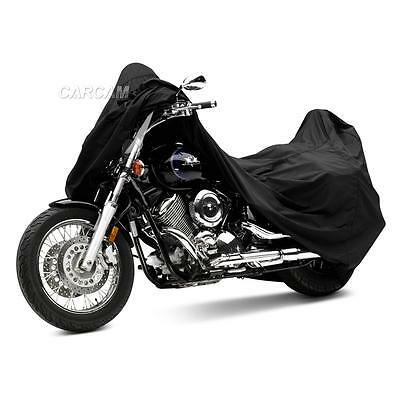 Black Motorcycle Dust Cover For Kawasaki VN Vulcan Classic MeanStreak Nomad 1600