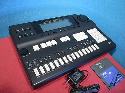 Yamaha QY300 Music Sequencer New belt of FDD installed w/ Power Supply Used