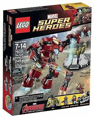 NEW LEGO Marvel Super Heroes Avengers: Age of Ultron 76031 The Hulk Buster Smash