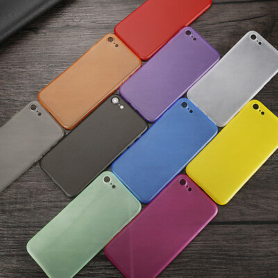 Ultra Thin 0.3mm Transparent Slim Case Cover For Apple iPhone5 6 7 plus RX