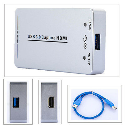 Full HD 1080p HDMI Capture Dongle USB 2.0 Flashback Recording Video Adapter Card