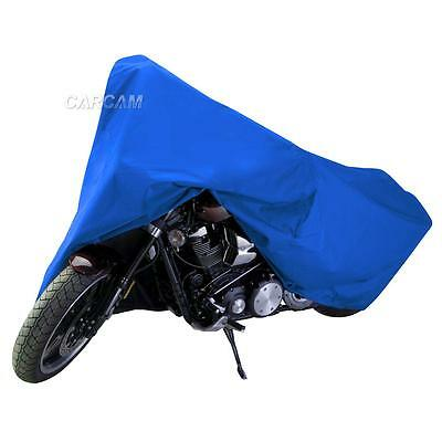 Blue Motorcycle Dust Cover For Yamaha V-Star XVS 250 650 950 1100 1300 Cruiser