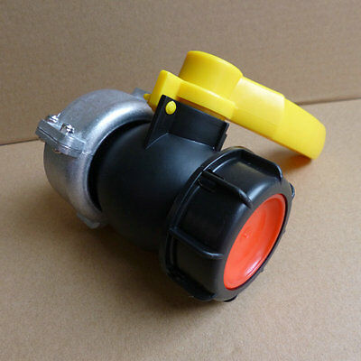 1000L IBC Water Tank Φ75 Screwable Ball Valve