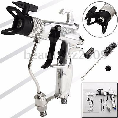 Airless Spray Gun 4500PSI W/517 Tip & Guard Air-assisted For Fine Finish