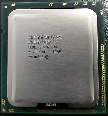Intel Core i7 975 CPU/Extreme Edition/ LGA 1366/3.33GHz/SLBEQ/8MB /6.4GT.s/130W