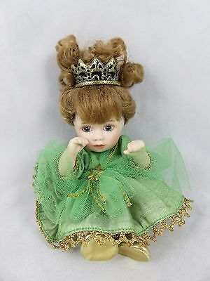 Marie Osmond - Tiny Tot Porcelain Doll - Princess / Queen - Baby - Limited Ed