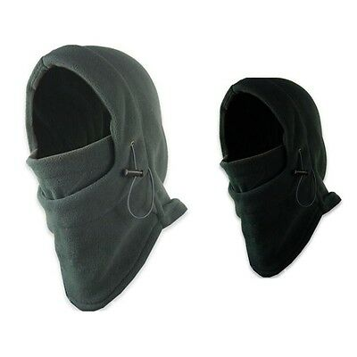 Thermal Balaclava Fleece Paintball Airsoft Army Military Covert Hood Face Mask