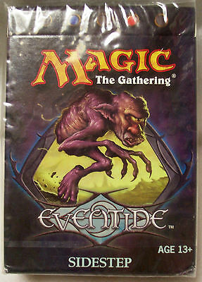 Magic The Gathering MTG EVENTIDE Theme Deck SIDESTEP - New & Sealed
