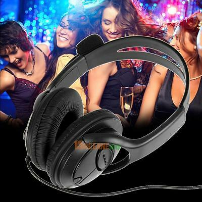 Hot Wired Pro Gaming Headset Headphones w/ Mic For Wii Sony PS4 XBOX One