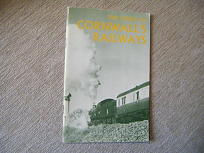 The Story of Cornwall's Lost Railways  A Fairclough  Published Circa 1975