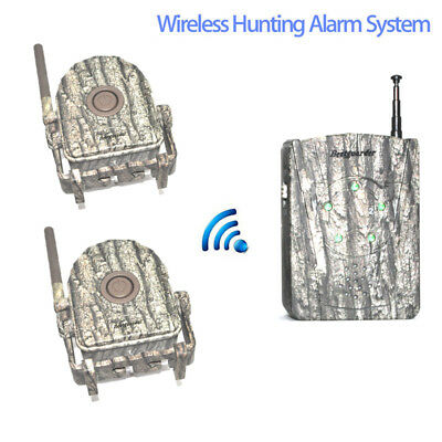 Wireless Outdoor Wildlife Alert System Chime Motion Sensor Home Alarm Security