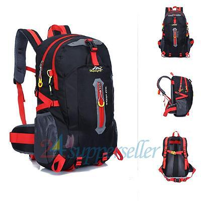 Large Hiking Camping Travel Outdoor Military Rucksack Backpack Luggage Pack Bag
