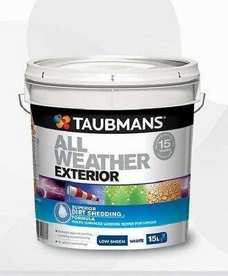 Taubmans All Weather Exterior Paint 4L & 10L EXTREMELY CHEAP SELLING QUICK!!!