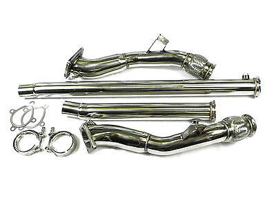 Audi S4 B5 2.7 Quattro Stainless Steel Exhaust De restricted Downpipe (No Cat)