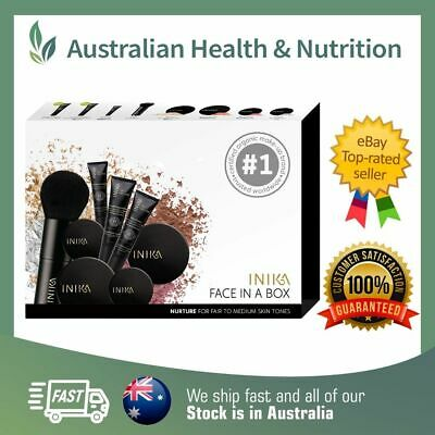 Inika - Face In A Box Essential Starter Kit - All Available + Free Sample
