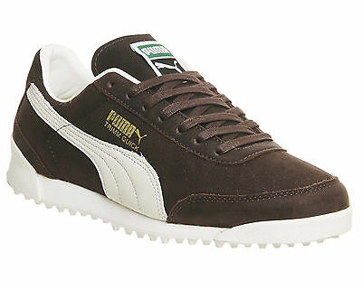 Mens Puma Trimm Quick COFFEE WAXED NUBUCK  Trainers Shoes