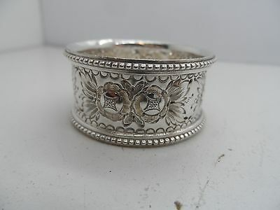 2 Victorian Decorative Silver plated Napkin Ring C-1890's No Reserve