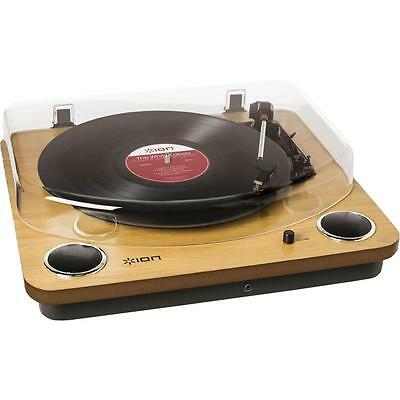 ION Max LP USB Turntable with Built In Speakers