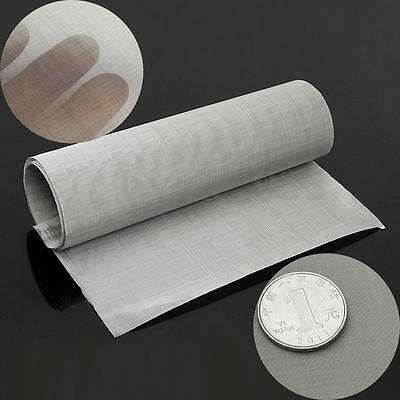 100 Micron Mesh Stainless Steel Woven Wire Cloth Screen Filter Sheet 35x12''