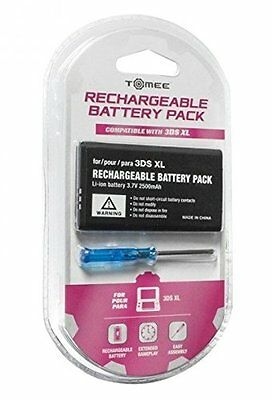 Batterie de rechange rechargeable console Nintendo 3DS XL et New 3DS XL Tomee