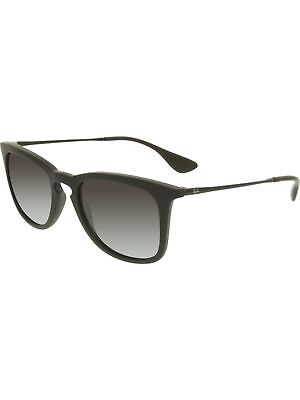 Ray-Ban Women's Gradient RB4221-622/8G-50 Black Wayfarer Sunglasses