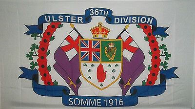 Ulster Flag Ulster 36Th Division Somme 1916
