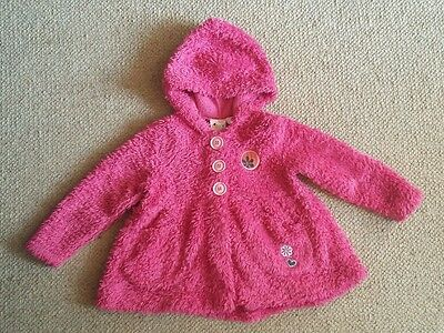 Girls Roxy jacket Age 2 Fluffy Pink