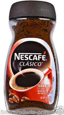 New Nescafe Classico 100% Pure Instant Coffee Dark Roast Daily Rich Bold Flavor