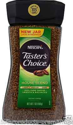 New Nescafe Classico 100% Pure Instant Coffee Decaf House Blend Smooth Balanced