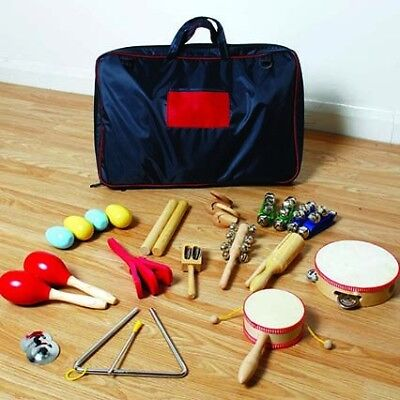 Percussion Bag with 23 pieces for 15 pupils
