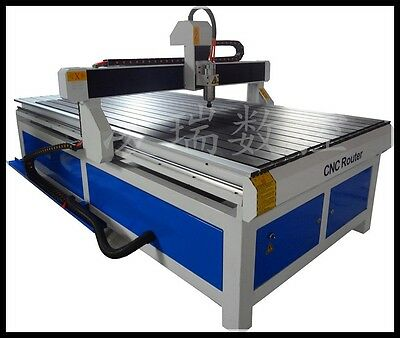 """New 1224 CNC Router / Engraver Machine 48""""x96""""x6"""" WorkSize Free Shipped by Sea"""