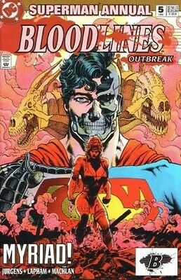 """Comic DC """"Superman Annual #5 - Bloodlines Outbreak"""" 1993 NM"""