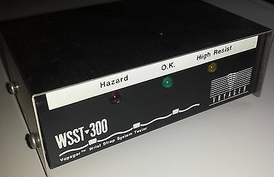 Anti-Static Wrist Strap Tester Model WSST-300 w/ User Manual