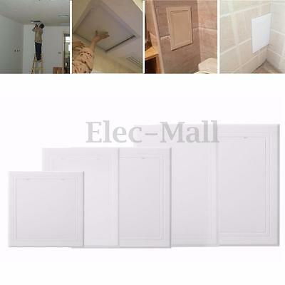 150/200/250/300mm Wall Access Panel White Inspection Door Revision Hatch Tool