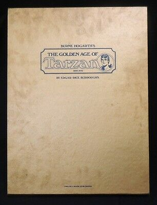 ESL078 Burne Hogarth's The Golden Age of Tarzan 1939-1942 Signed Limited Edition