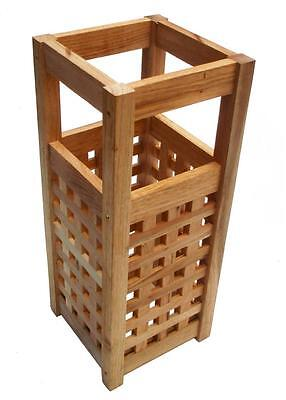 Traditional Style Wooden Pine Walking Stick & Umbrella Stand