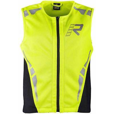 Rukka Safety Fluo Yellow Vest Visibility Hi Viz Vis Bike Motorcycle | All Sizes