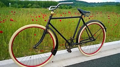 Vélo Bicyclette Bicycle ANCIEN Vintage année 1920/1930 (RAMA cycle, Lille)