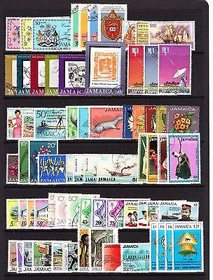 Jamaica Various Fine Used Commemorative Sets 1971-1992.