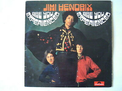 Jimi Hendrix - ARE YOU EXPERIENCED (Lp) First Press ITALY Cover Laminated