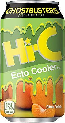 Ghostbusters Hi-C Ecto Cooler Drink Limited Release Can Sold Out