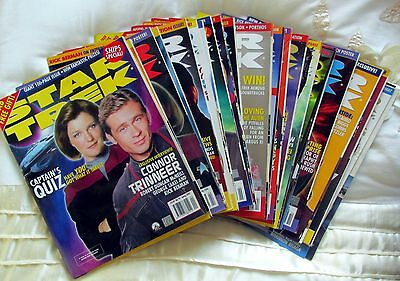 STAR TREK OFFICIAL MONTHLY MAGAZINE No 92-113  MAY 2002