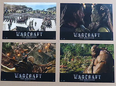 WARCRAFT - Lobby Cards Set - Travis Fimmel, Paula Patton, Toby Kebbell, C. Brown