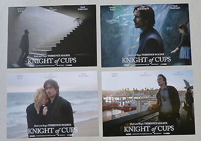 KNIGHT OF CUPS - Lobby Cards Set 8 - Christian Bale, Natalie Portman, Blanchett