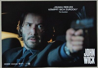 JOHN WICK - Lobby Cards Set of 6 - Keanu Reeves, Willem Dafoe