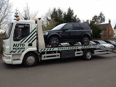 North Wales Car Delivery Vehicle Transport PickUp Truck Recovery #1 for Service