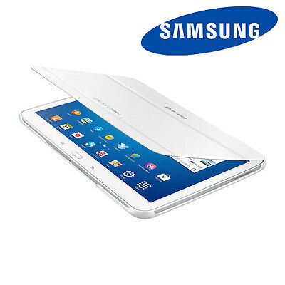 "NEW Genuine Samsung Book Cover Smart Case Stand White for 10.1"" Galaxy Tab 3"